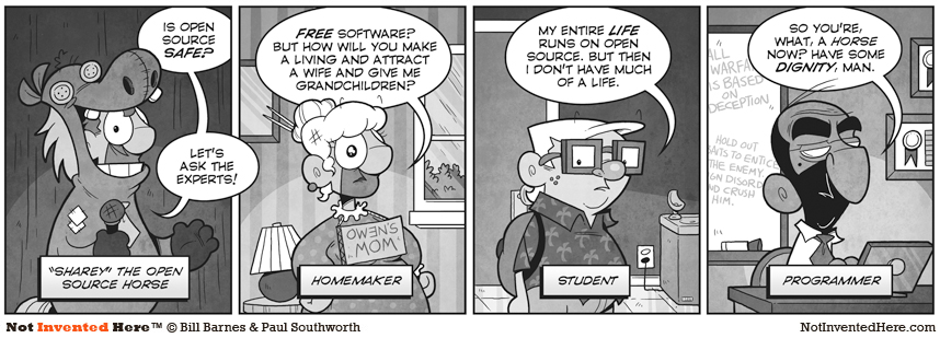 Not Invented Here comic strip for 10/19/2010