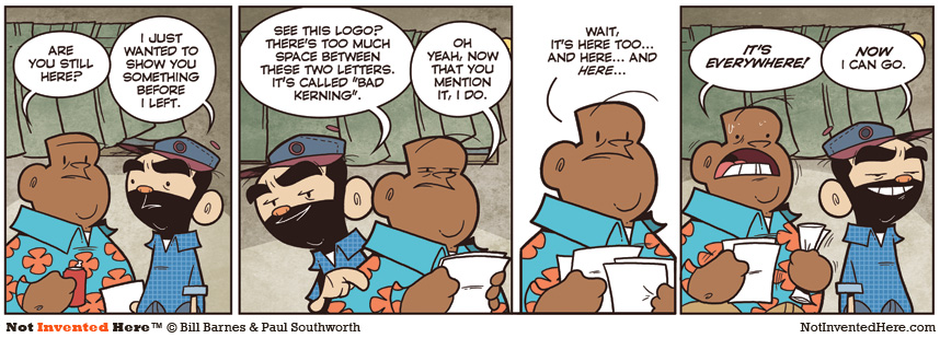 Not Invented Here strip for 6/23/2011