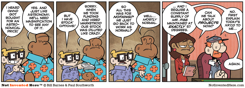 Not Invented Here strip for 10/10/2011