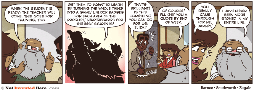 Not Invented Here strip for 3/5/2013