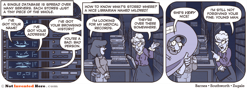 Not Invented Here comic strip for 5/8/2013