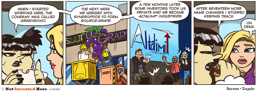Not Invented Here strip for 7/24/2014