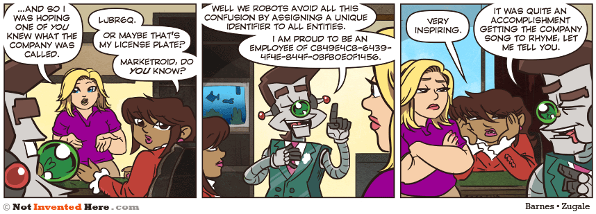 Not Invented Here strip for 7/29/2014