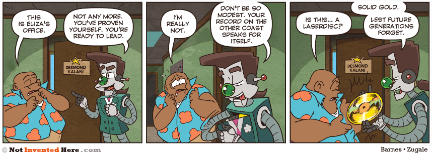 Not Invented Here strip for 4/16/2015