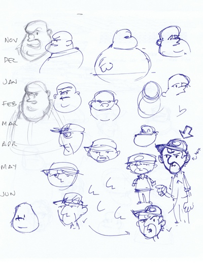 Jeff's sketches page 1